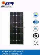 Price Per Watt! 150w Mono Solar Panel! Solar Modules, High Efficiency from China Manufacturer!