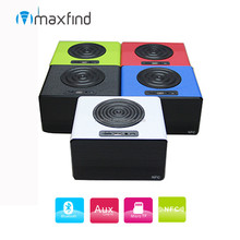 2015 NEW! Club Cubic NFC function Touch Screen mini bluetooth speaker with LED light indicator