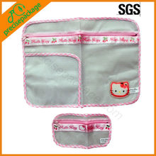 mesh laundry bag with pattern