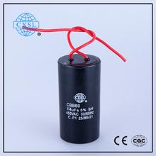 Washing machine, air conditioner use cbb60 sh motor run capacitor