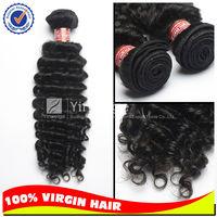 Mix length free shipping 3 bundles deal 100% Virgin malaysian hair natural color hair extension deep wave tangling free