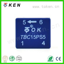 Closed-loop hall effect current sensor TBC-PS5 series for DC, AC current