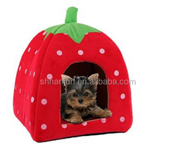 Pawhut Folding Pet Carrier House Dog Cat Bed Travel Tote Kennel Home w/ Pad 23