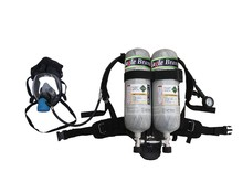 high pressure respirator SCBA breathing apparatus with double cylinders