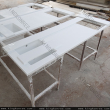 Artificial stone absolute white quartz countertop