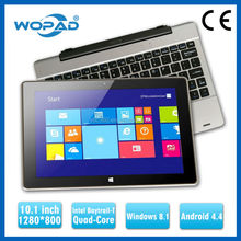 Cheap OEM 10.1 inch Intel Quad-Core Win8 Tablet PC IPS 1280*800 with Dual OS