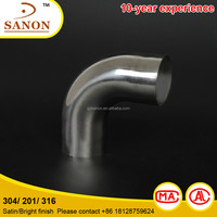 stainless steel pipe fitting pipe joint elbow