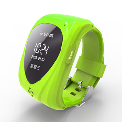 New products on china market SOS LBS kids gps tracking watch mini gps gsm tracker