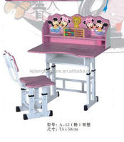 lovely adjustable height children desk and chair