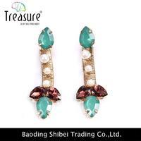 sportsmen/woman designer earrings jewelry end cap dangler