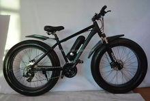 26'' x 4.0 fat snow electric bike with miid motor 48v 750w SM-2303