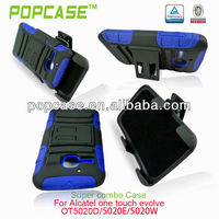custom logo phone case for alcatel one touch m pop
