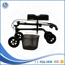 best selling products double brake knee scooter with knee support wholesale for Indoor Outdoor