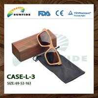 Wood color glasses case optical eyewear frame case (L01)