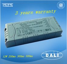 12v multiple output power supply, high output current to 250ma 350ma 500ma led driver