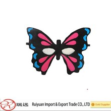 Alibaba new design felt butterfly mask for kids promotional gift