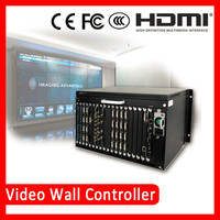 iSEMC-T6U FCC CE Certified Agent wanted 4x4 hdmi video wall controller