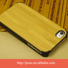 Smart shockproof wood bamboo for iphone case,bamboo cover for Iphone 5/5s