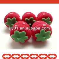 Magical Strawberry Sponge Ball for Hair Curling