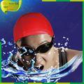 Gorro de silicona resistente al agua para natación y personalizado,gorro silicona natación