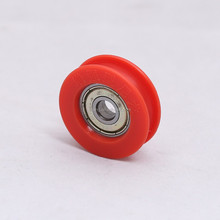 626zz small plastic nylon roller wheel with bearing