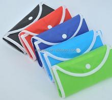 Eco Non Woven Shopping Bag Handled Snap Folding Shopping Bag Cheap