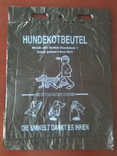 High quality and printing the biodegradable plastic dog poop bag