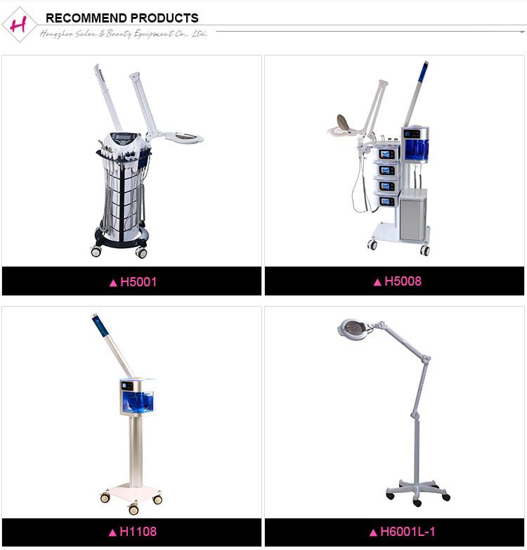 Alta-frequência 8in1 equipamentos multifunções beleza máquina facial galvânica spa