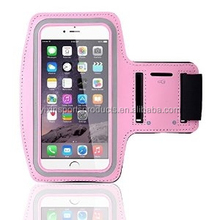 hot-saled neoprene and PVC material sport phone pouch, arm band phone bag, running armband phone for I-phone 4/5/6 or Samsung