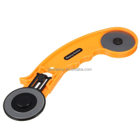 Hot sales 45mm Rotary Cutter Circular Sewing Fabric Cutting Leather Craft Tool+Spare Blade