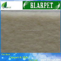Super quality branded plain surface nonwoven exhibition carpet