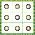 3 tom Hazel lentes de círculo 14.0 mm Vial Packing