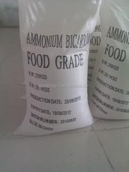 ammonium bicarbonate 97% white crystal powdered