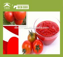 Pâte de tomate en conserve oem de ketchup marque oem de ketchup marque