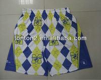 Men's 100%Polyester Mesh Sports Shorts