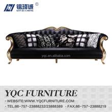 Y1238 hot sale italian design imported denuine leather sofa