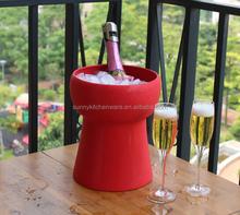 Aluminum Metal Champagne Bucket