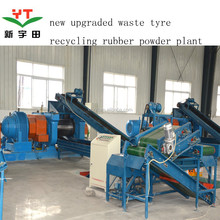 5000ton capacity used tire recycling machine/tire recycling/waste tire recycling machine