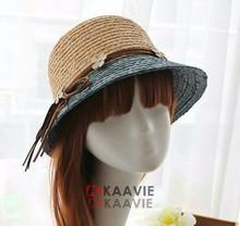 fashion summer straw boater hat madagascar raffia hats