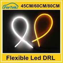 dual color flexible led drl/daytime running light 45cm/60cm/85cm