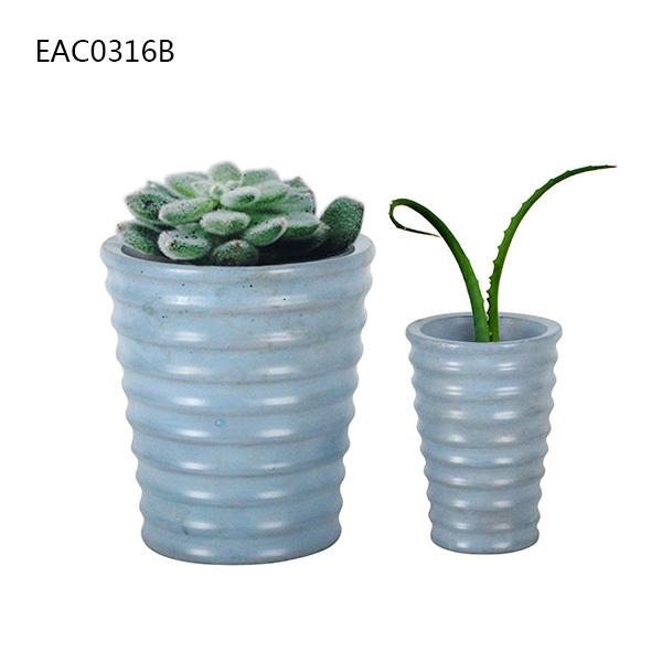 New Design Cute Garden Decoration Concrete Flower Pot With