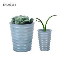 New Design Cute Garden Decoration, Concrete Flower Pot with screw thread