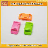 Yukai plastic latch buckle/plastic bracelet buckle/side release plastic buckle