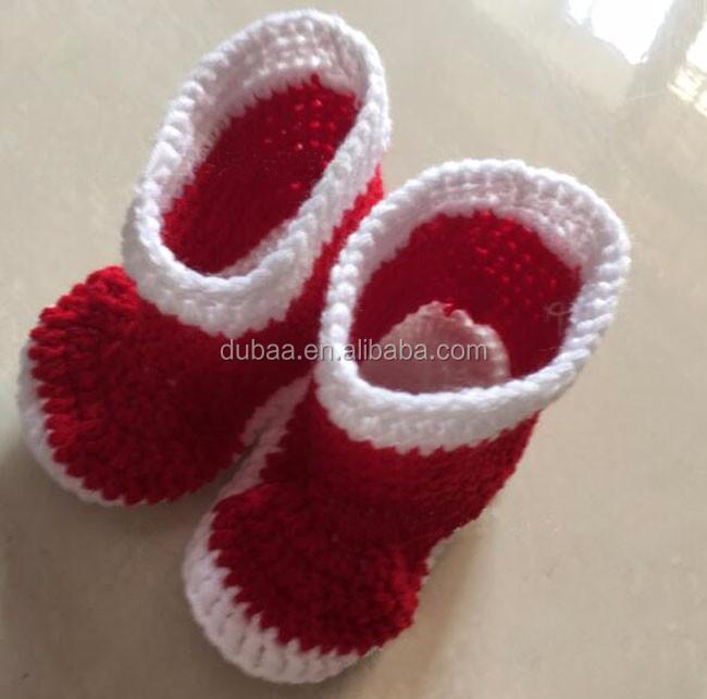 Hand knitting baby shoes.jpg