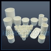 Yttria-stabilized Zirconia Crucibles For Melting Precious Metals And Alloy