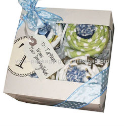 Creative Paper Gift Box for Towels