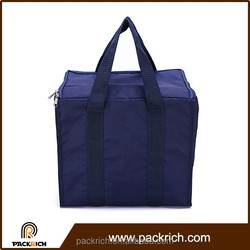 Picnic and travel single shoulder non woven cooler lunch bag