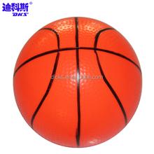 Orange Mini PVC Basketball For Kids