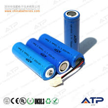 3.7v 750 mah. 14500 aa batterie li ion / battery cell lithium 3.7v 14500 /aa 14500 3.7 batterys