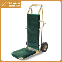 High quality with good design vintage hotel trolley luggage
